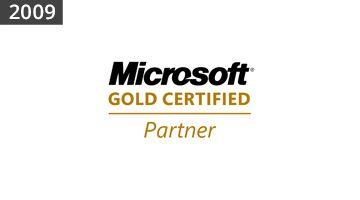 2009 Microsoft Gold Certified Partner