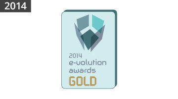 2014 E-VOLUTION AWARDS GOLD