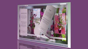 FLIP BOOK ONLINE | WEB SITE PROJECT